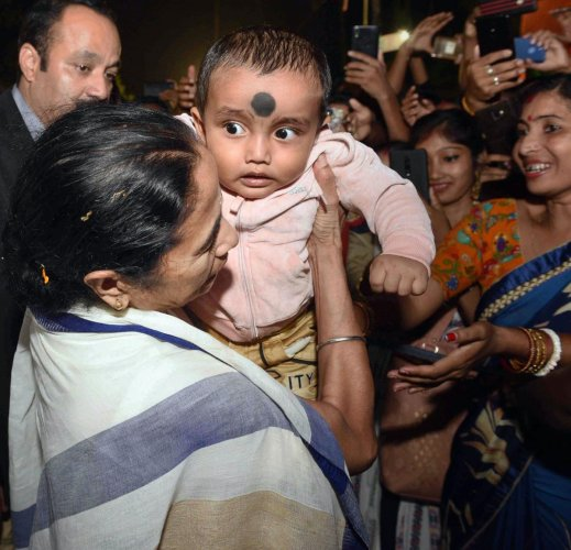 The displaced people will also be given land rights by the Trinamool Congress government, Banerjee said. (PTI Photo)
