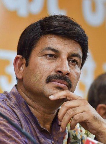 Manoj Tiwari. Photo by PTI