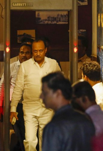A source in the Vidhan Bhawan said the Speaker has so far not accepted the NCP's decision of replacing Ajit Pawar with Jayant Patil. (PTI Photo)