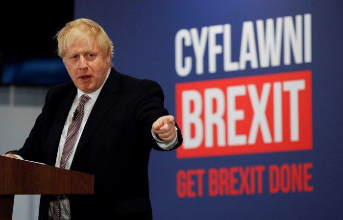 Britain's Prime Minister Boris Johnson. Reuters