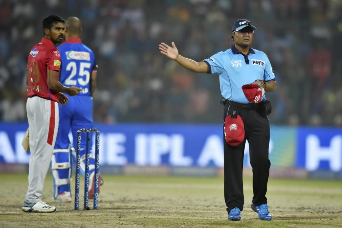 The umpiring in last season's IPL came under fire because of some controversial decisions. (PTI file photo)