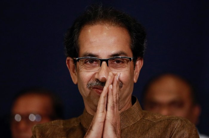 Shiv Sena chief Uddhav Thackeray. (Reuters Photo)