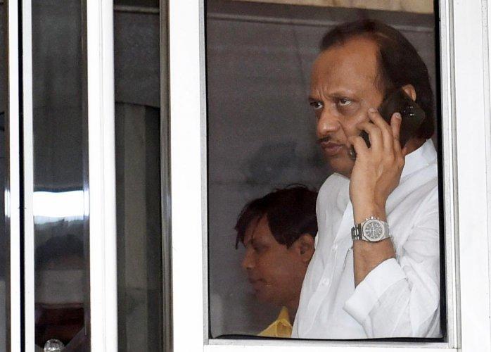 NCP leader Ajit Pawar. (PTI Photo)