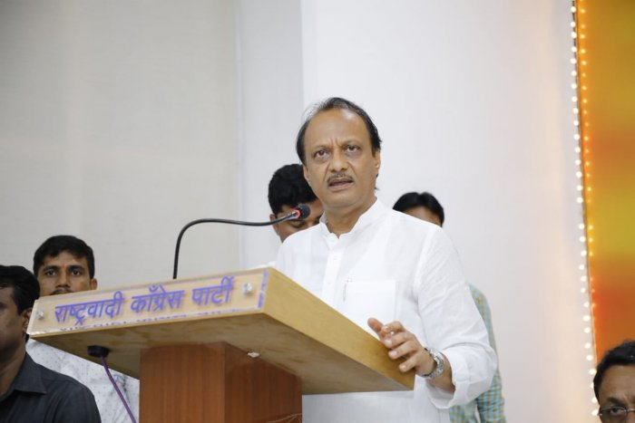 """""""I have nothing to say (right now), I will speak at the right time,"""" says Ajit Pawar. (Twitter Image/@AjitPawarSpeaks)"""