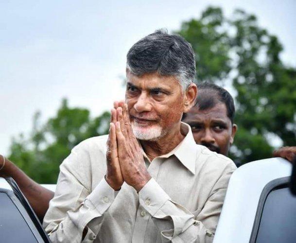 Former Chief Minister and Telugu Desam Party (TDP) chief Nara Chandrababu Naidu. (File Photo)