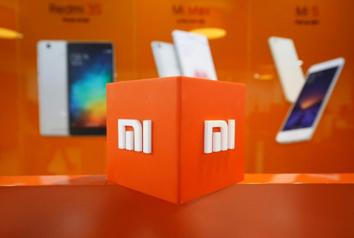 The logo of Xiaomi. (Reuters photo)