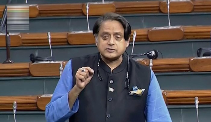 Congress leader Shashi Tharoor. (PTI file photo)