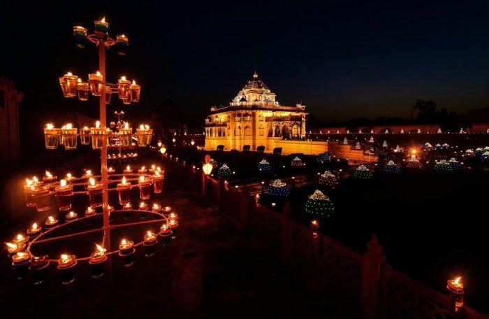 Akshardham Temple. (PTI file photo)