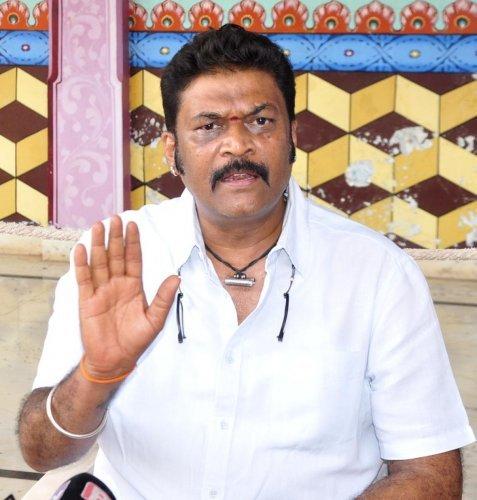 Disqualified legislators Anand Singh (Vijayanagar)