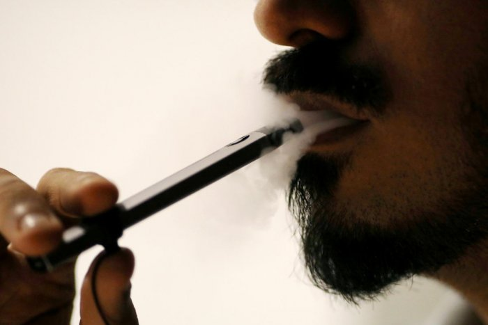 A bill to ban the production, import and sale of electronic cigarettes was passed by Lok Sabha on Wednesday. (Reuters Photo)
