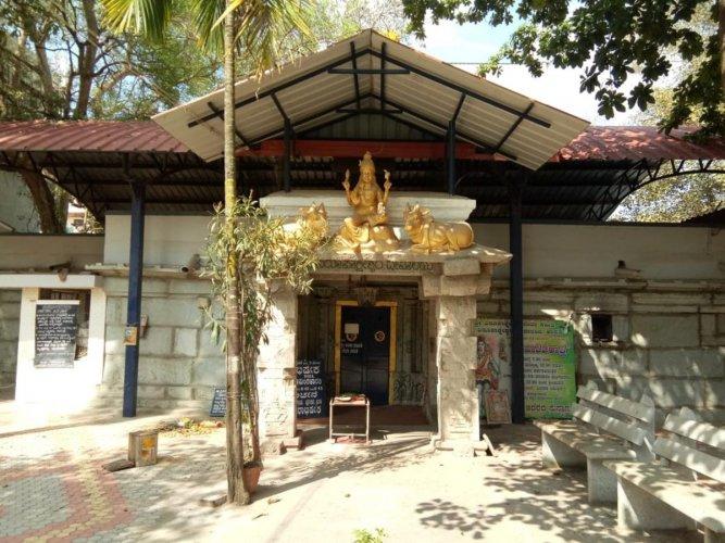 Virupaksheshwara temple in Hassan.