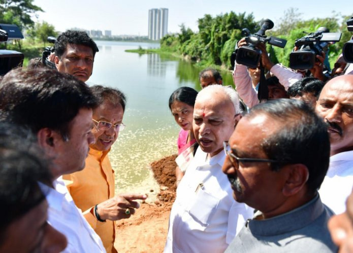 "Yediyurappa said corporators and officials were working hard to bring the situation to normalcy. ""So far, 319 houses have been identified as worst-hit, to whom Rs 50,000 will be transferred by RTGS by Tuesday evening,"" he said."