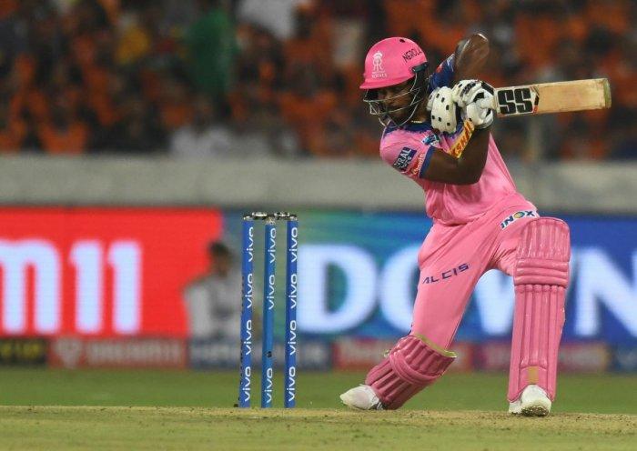 Sanju Samson in action during IPL. (AFP file photo)