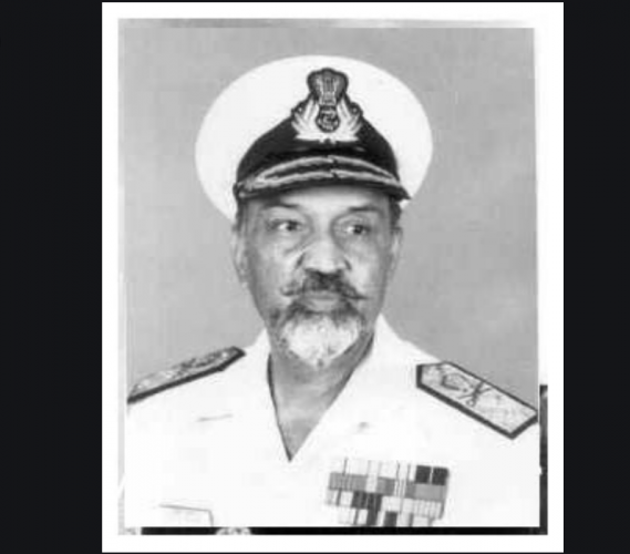 Former Navy Chief Admiral Sushil Kumar. (Photo: National Defence College website)