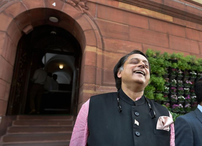 Congress MP Shashi Tharoor. (PTI file photo)