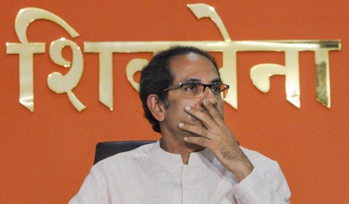 File PTI photo of Shiv Sena Chief Uddhav Thackeray