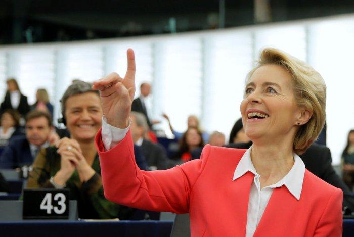 European Commission President Ursula von der Leyen. (Reuters photo)