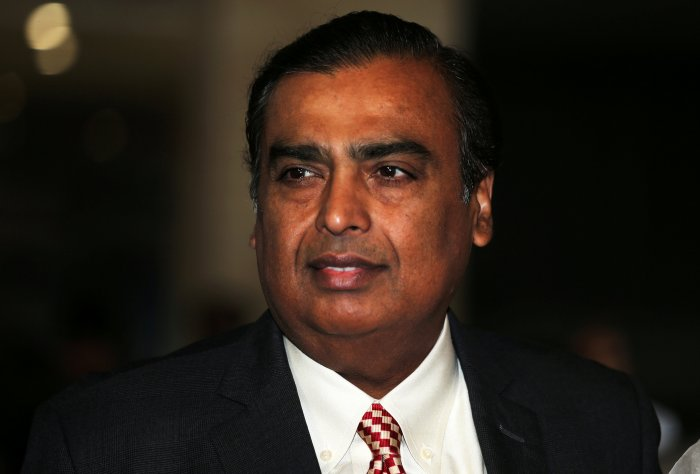 Reliance Industries Chairman Mukesh Ambani. (Reuters photo)