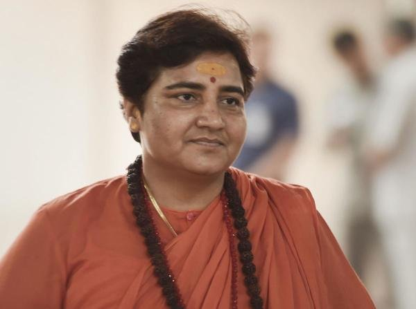 Bhopal MP Sadhvi Pragya Thakur. (PTI photo)