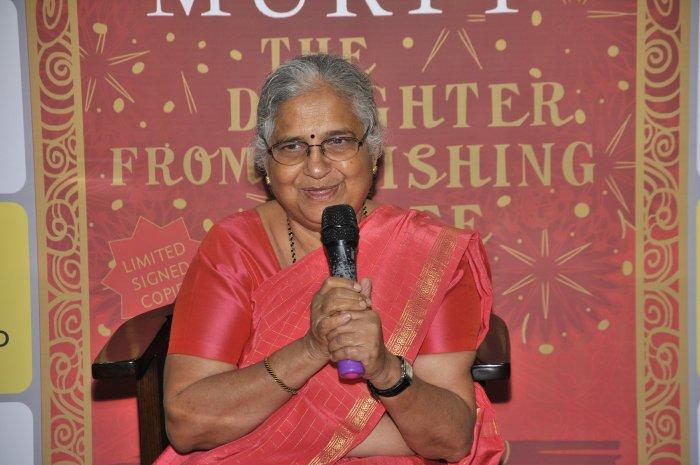 Sudha Murthy. (DH Photo)