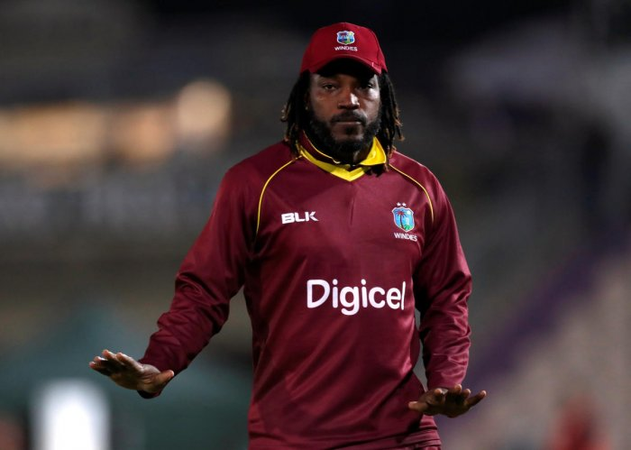 Gayle was picked by the Challengers to play in the Bangladesh Premier League (BPL) from December 11. Photo/REUTERS