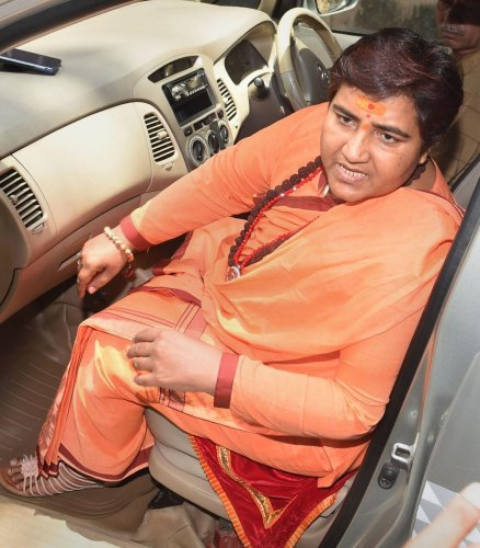 This is not the first time that Thakur has courted controversy because of her comments on Godse. During the Lok Sabha election campaign, Thakur had described Godse as a patriot, triggering a huge political storm. Photo/PTI