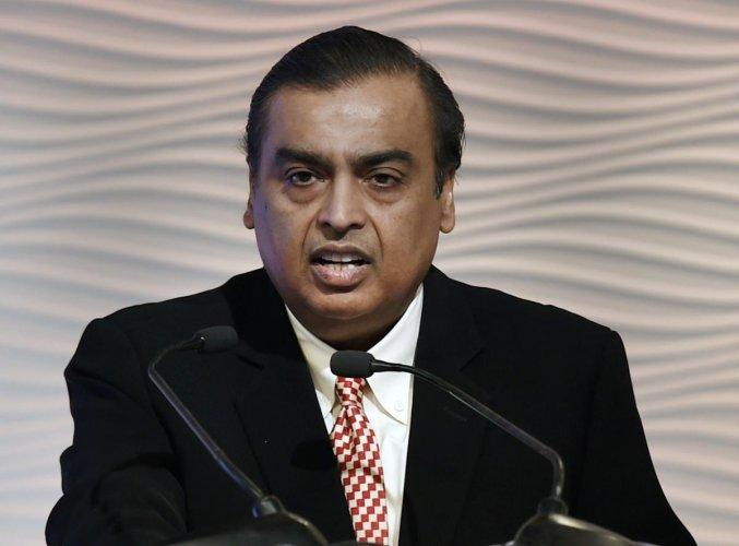 Reliance Industries Chairman Mukesh Ambani. Representative Image. PTI Photo