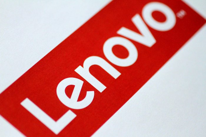 The Lenovo logo is seen in this illustration photo. Photo by REUTERS