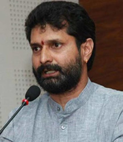 Minister and BJP leader C T Ravi. File Photo