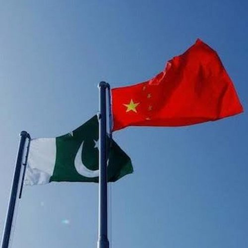 China-Pakistan National Flag. DH photo
