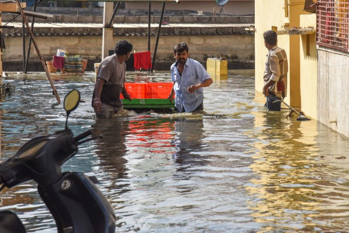 Criticising the administration for the negligence in lake maintenance, Wajid pointed out that Hulimavu was one of the lakes the BDA had given to the BBMP. DH Photo