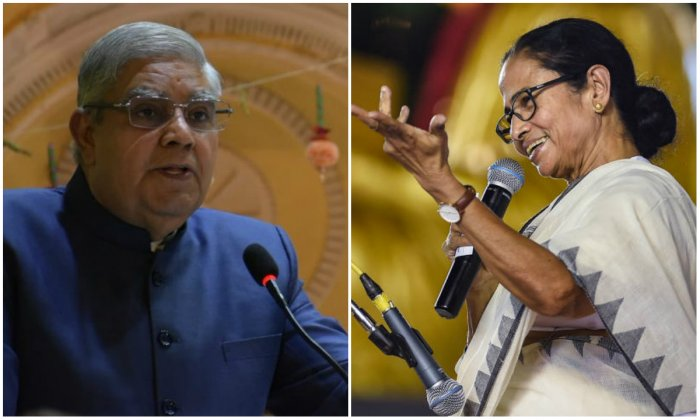 The chief minister also said that Dhankhar is engaging in a spat with her on the direction of the BJP-ruled government at the Centre.
