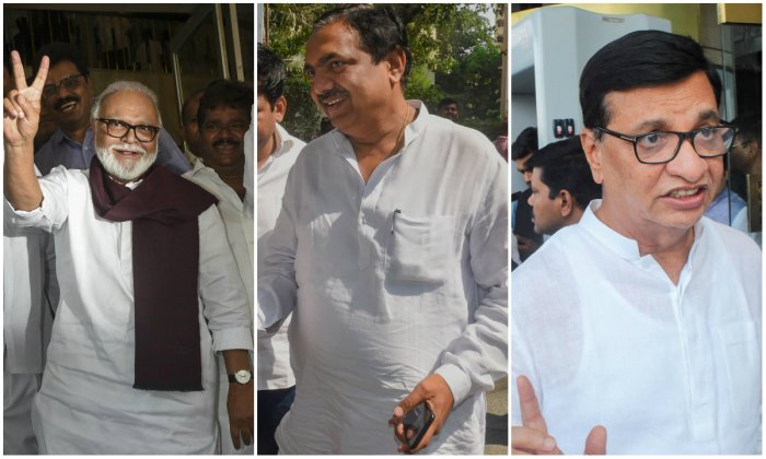 """Bhujbal and Patil are expected to be sworn in as ministers from the NCP. Ajit Dada is likely to be the deputy CM. But, he is unlikely to take oath today,"" a source in the NCP said. (PTI Photos)"