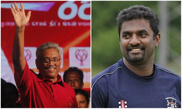 Muralitharan is to be appointed as the governor of the Northern Province, while Anuradha Yahampath would become the governor of the Eastern Province.