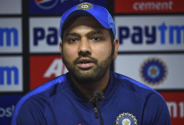 Indian captain Rohit Sharma. (PTI Photo)