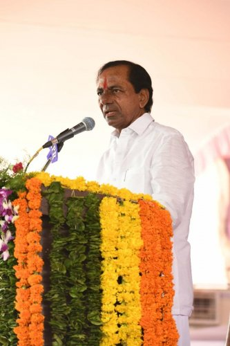 """""""We should give them a chance.. They said let us have a humanitarian approach,"""" Chief Minister K Chandrasekhar Rao said. (DH File Photo)"""