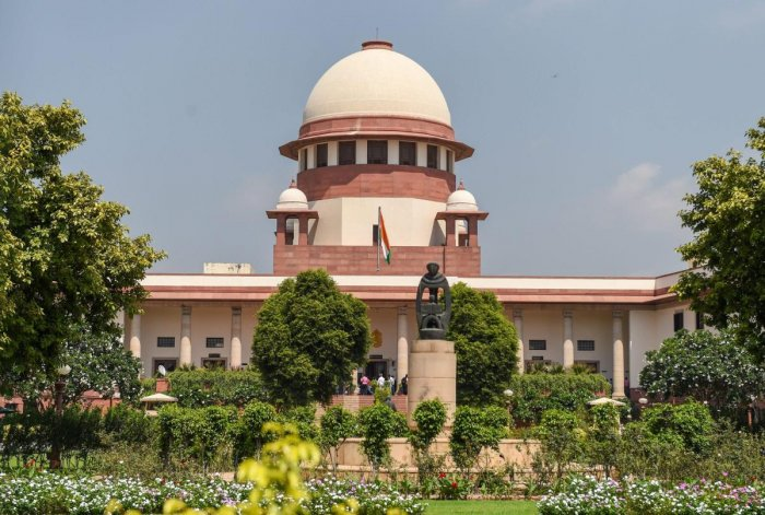 The Supreme Court of India. Photo by PTI