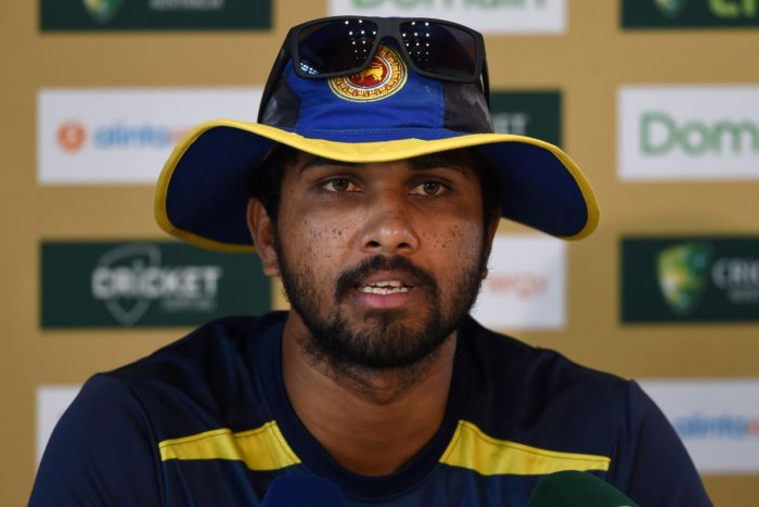 Sri Lanka on Friday gave former skipper Dinesh Chandimal a new chance to fight his way back into the national team by naming him in the squad to play a landmark two-match Test series in Pakistan. Photo/AFP