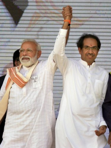 The Shiv Sena maintained the prime minister does not belong to any single party, but the entire country. (PTI Photo)