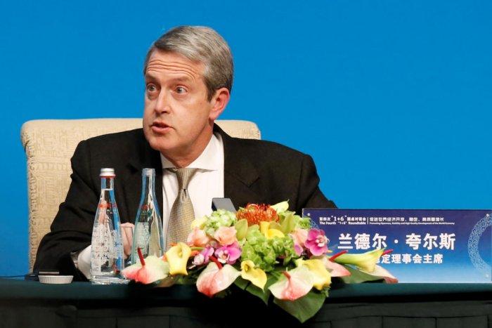 FSB Chairman Randal Quarles. Reuters