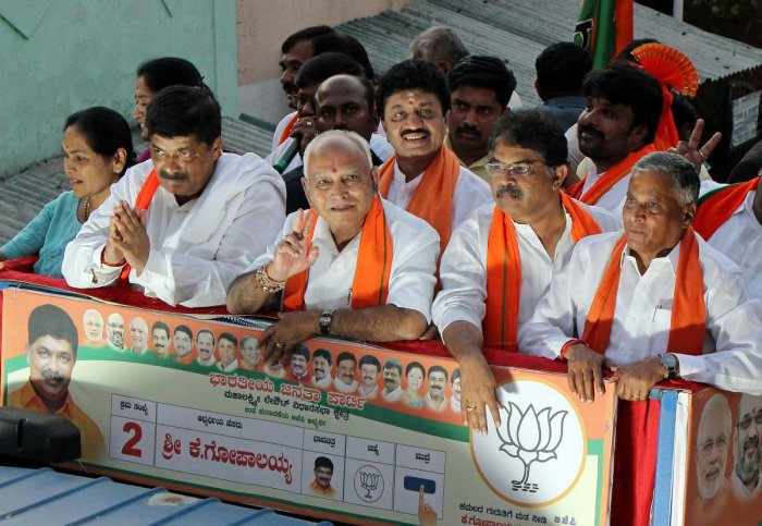 Till date, the Congress has submitted nine complaints to the Election Commission seeking action against Chief Minister B S Yediyurappa and other BJP leaders.
