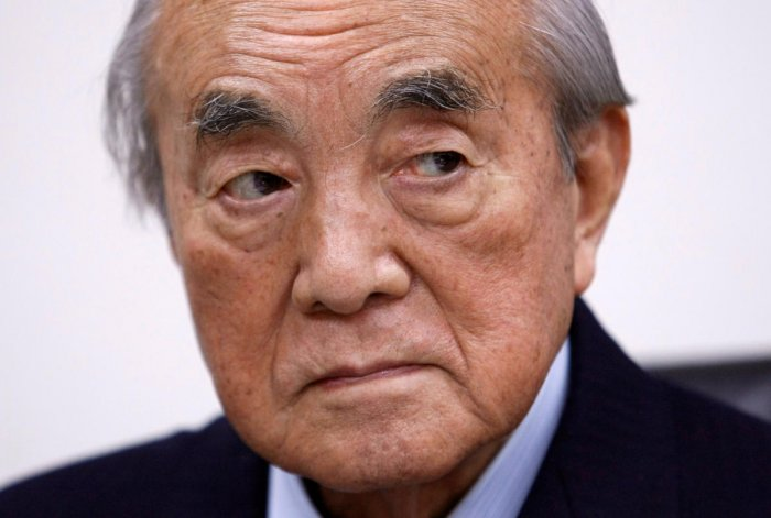 Former Japan Prime Minister Yasuhiro Nakasone attends an interview with Reuters reporters in Tokyo, Japan January 25, 2010. (Reuters Photo)