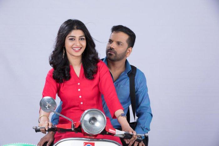 A still from the Kannada film Brahmachari.