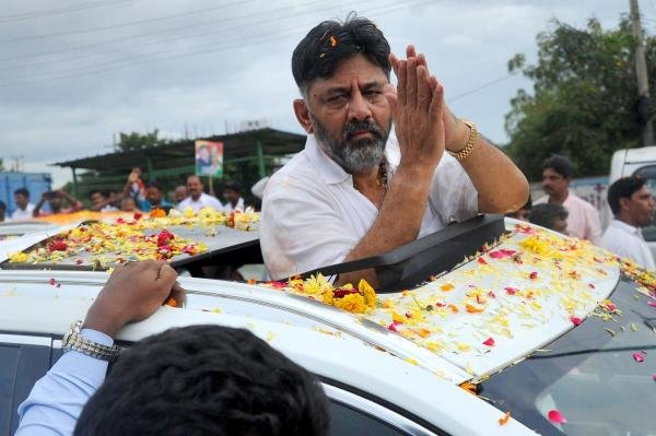 Former Minister and Senior Congress leade DK Shivakumar. (DH photo/Pushkar V)