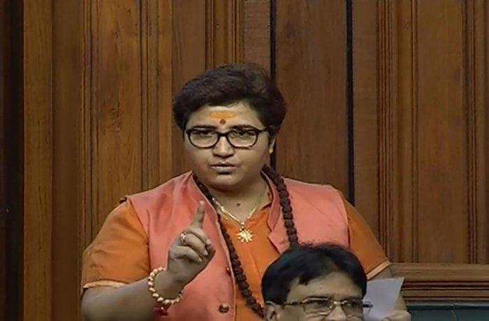 BJP MP Pragya Singh Thakur (PTI Photo)