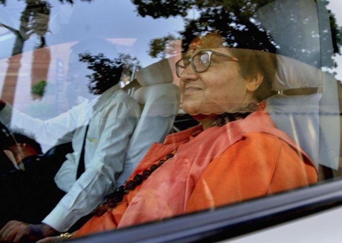 BJP MP Pragya Thakur. (PTI file photo)