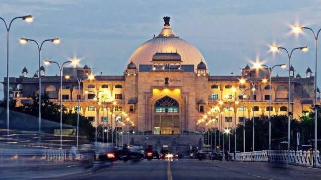 Rajasthan's digital library. (DH Photo)