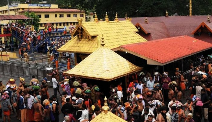 The Sabarimala temple, which was opened on November 16 for the annual two-month-long witnessed a heavy rush of devotees on Saturday, with over 80,000 of them so far trekking up the hill.