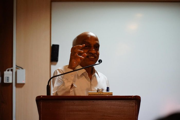 A S Kiran Kumar, chairman of the Indian Space Research Organisation from 2015 to 2018