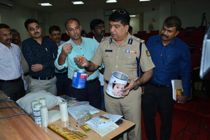 Bengaluru Police Commissioner Bhaskar Rao said they had seizedmarijuana worth Rs 1 crore from Salim.